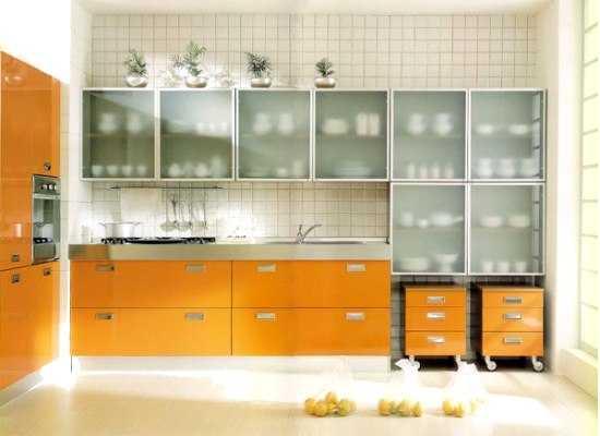 Reposteros para cocinas peque as soluciones ideales for Muebles para microondas modelos