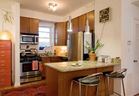 Reposteros para cocinas peque as soluciones ideales for Como amueblar una cocina pequena
