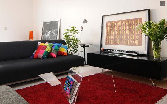 Cojines modernos para sofas feliz navidad pap noel rbol for Alfombras comedor amazon