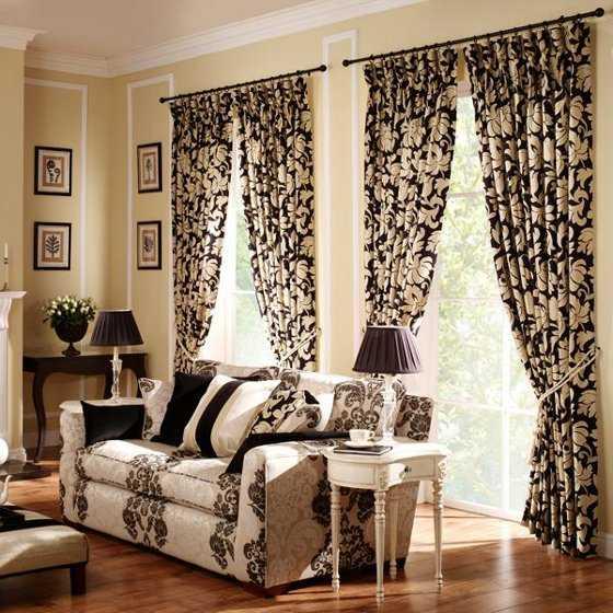 cortinas para sala y comedor modernas imagui