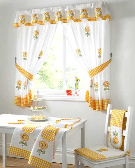 Modelos de cortinas para tu cocina escoge tu favorito - Diseno de cortinas de cocina ...
