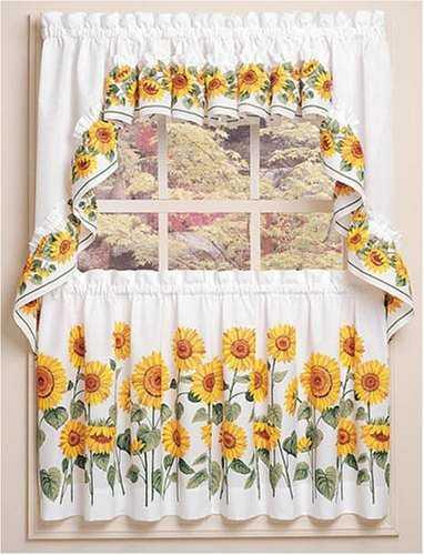 Modelos de cortinas para tu cocina escoge tu favorito - Cortinas de tela para cocina ...