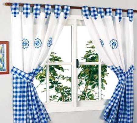 Modelos de cortinas para tu cocina escoge tu favorito cocina decora ilumina for Donde venden cortinas