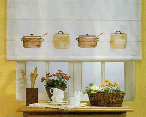 Modelos de cortinas para tu cocina escoge tu favorito for Cortinas cocina
