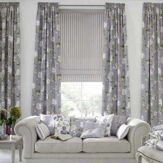 Procura guardar siempre una armonía entre las cortinas y el resto de ...