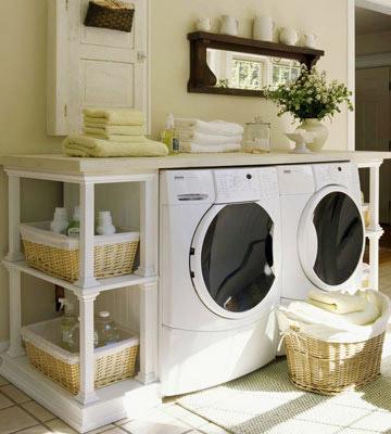 C mo decorar el cuarto de lavado tip del dia decora for Decorar lavaderos pequenos