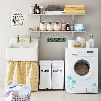 C mo decorar el cuarto de lavado tip del dia decora for Lavaderos para casa