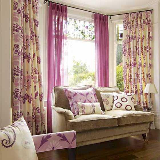 Los m s modernos modelos de cortinas para tu living - Telas para cortinas el corte ingles ...