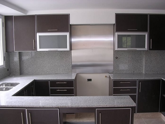 Muebles de melamina para tu cocina cocina decora ilumina for Muebles cocina melamina