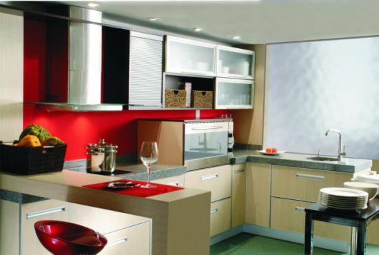 Modelos de cocinas modernas en melamina imagui for Modelos de zapateras de melamina