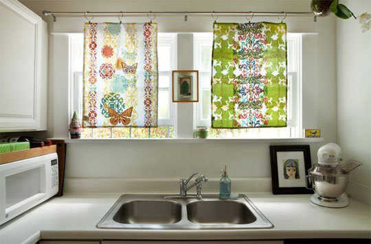 Modelos de cortinas para tu cocina escoge tu favorito - Cortinas de cocinas ideas ...