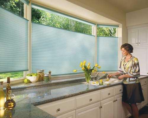 Modelos de cortinas para tu cocina escoge tu favorito - Persianas para cocina ...