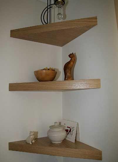 Repisas flotantes para sala perfectas sala decora for Esquineros para paredes