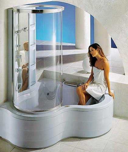 Tinas De Baño Pequenas:Decoración de baños para casa: tinas y jacuzzis 2012
