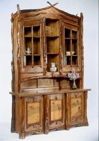 Vitrinas de madera para tu comedor comedor decora ilumina - Como decorar una vitrina de comedor ...