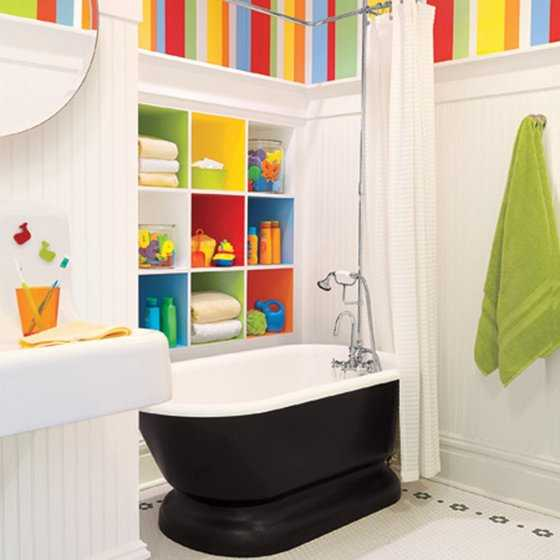 Baños Modernos Ninos:Kids Bathroom Decorating Ideas