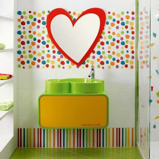Diseno De Baños Para Ninas:Kids Bathroom Tile Designs