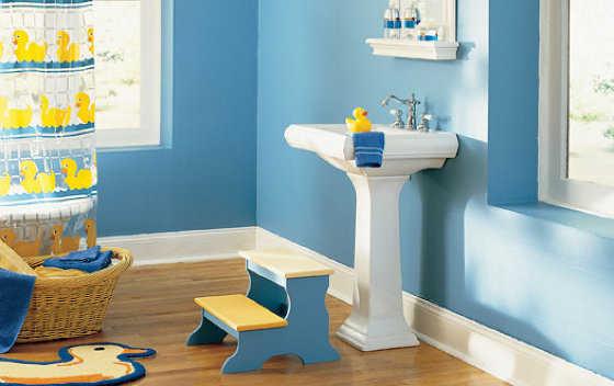 Baños Color Verde Limon:Baños modernos infantiles: escoge el color adecuado