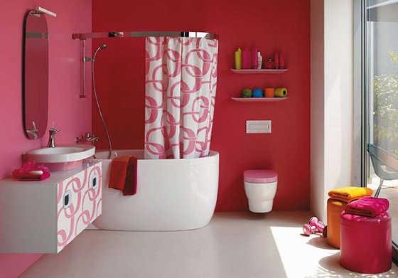 Baños Tortas Infantiles:Pink Bathroom Ideas