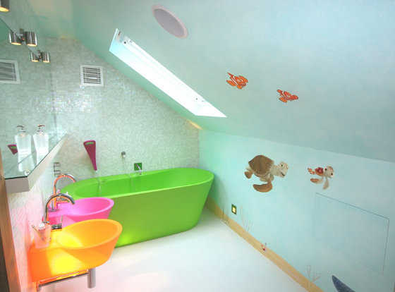 Baños Modernos Ninos:Kids Bathroom Idea
