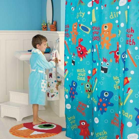 Cortina Baño Infantil:Baños infantiles: Ideas para una decoración moderna