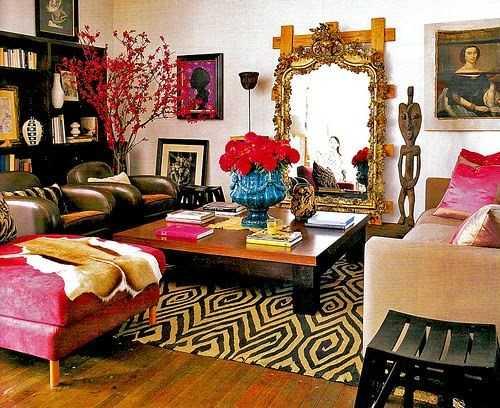 Decoraci n bohemia para tu sala lo que no puede faltar for Decoracion bohemia vintage