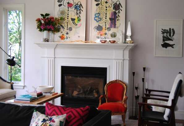 Decoraci n bohemia para tu sala lo que no puede faltar - Decoracion con antiguedades ...