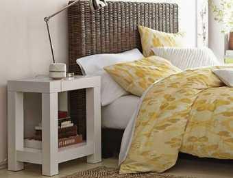 mesitas de noche para espacios peque os dormitorio