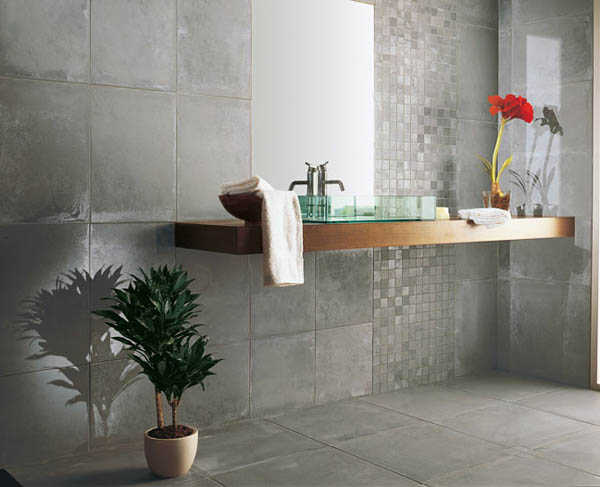 Porcelanato para baños, ¡modelos ideales!  Muebles Nina
