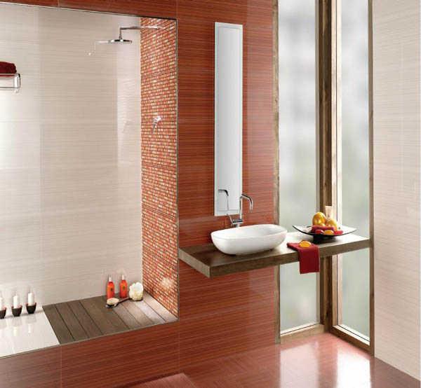 Piso Para Baño Verde:Porcelanato para baños, ¡modelos ideales!