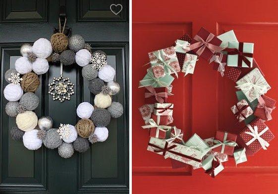 Adornos de navidad 2012 novedades originales navidad - Adorno puerta navidad ...