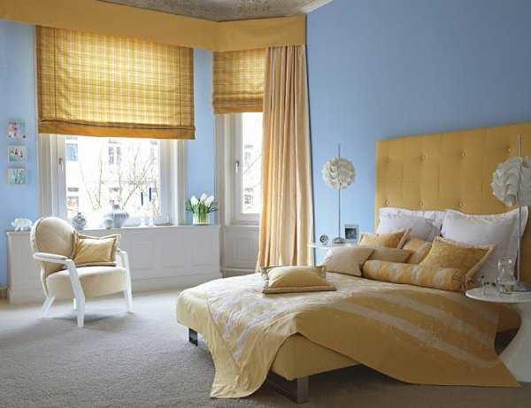Dormitorio en celeste lo que so aste dormitorio decora ilumina - Que colores combinan con el beige ...