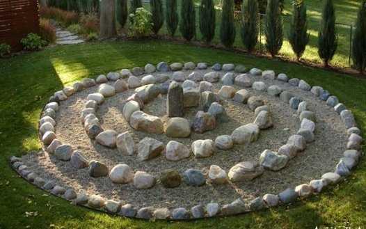 Decoracin de jardn con piedras para tu casa Jardin Decora Ilumina