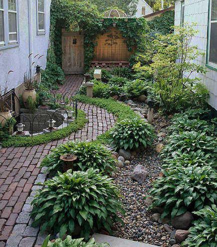 Decoraci n de jard n con piedras para tu casa jardin for Jardines decorados con piedras y plantas