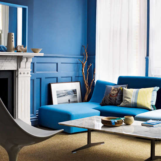 el cielo es azul muebles: