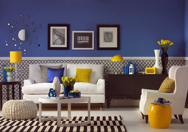 Blue And Yellow Farmhouse Bedroom Tons Of Decorating Ideas