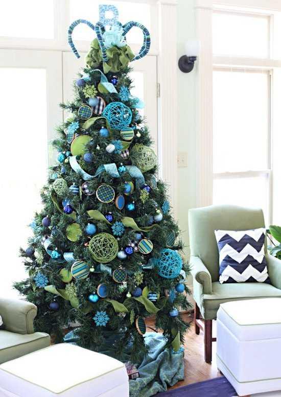 Feng shui turquoise color joy studio design gallery - Decoracion arbol navideno ...