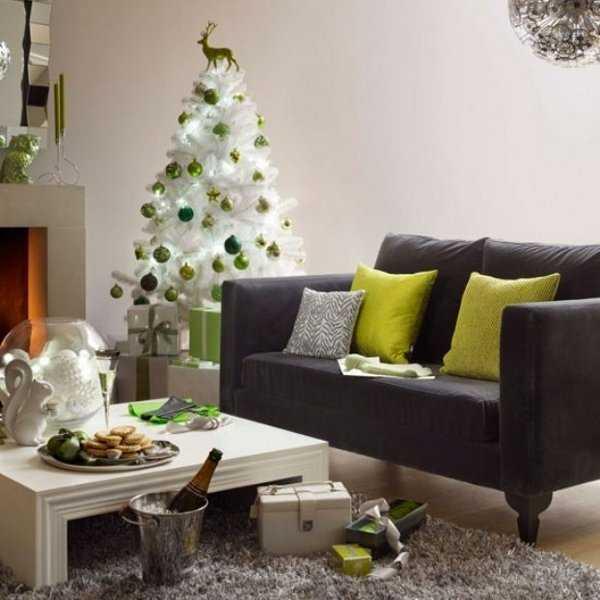 Decoraci n de rbol navide o nuevas y lindas ideas - Como adornar un arbol de navidad blanco ...