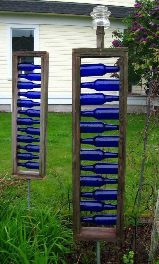 Decoración con botellas de vidrio: ¡Recicla y renueva tu espacio ...