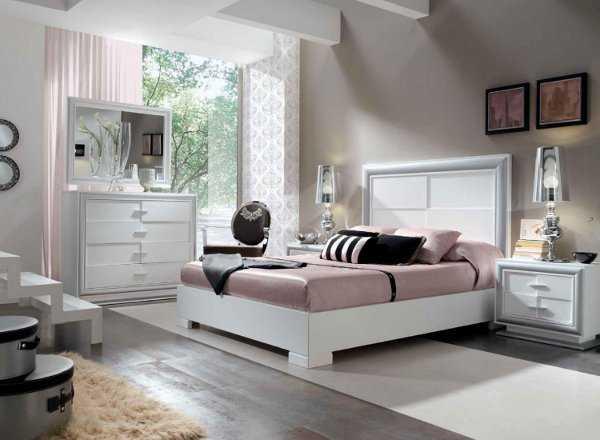 Dormitorio en blanco un sue o hecho realidad dormitorio decora ilumina - Dormitorios de nina en blanco ...