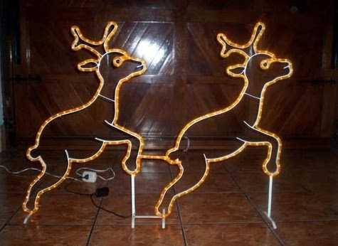 Como hacer un reno de alambre imagui - Como hacer figuras de navidad ...
