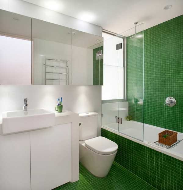 Decorar Baño Azulejos:Emerald Green Tile Bathroom