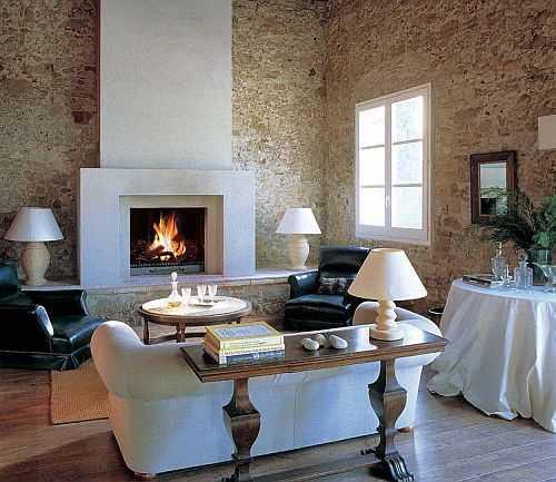 Ideas para decorar la sala con las ltimas tendencias 2013 - Decoracion salon con chimenea ...