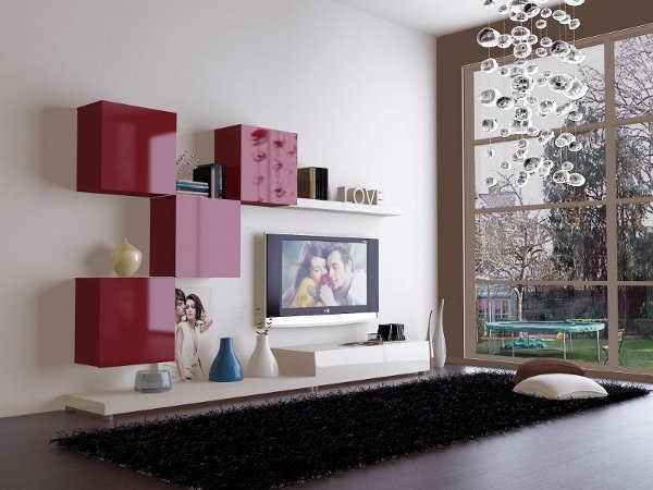 Sala Tv Minimalista ~ Sala minimalista Modernos accesorios para tu sala en este 2013