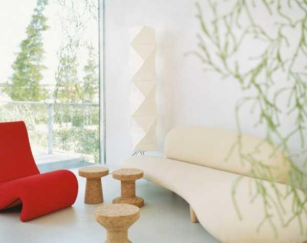 Sala minimalista modernos accesorios para tu sala en este for Imagenes de futones