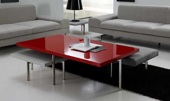 Sala minimalista modernos accesorios para tu sala en este for Casa minimalista rojo