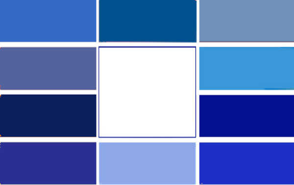 Gama de colores azules imagui - Colores azules para paredes ...