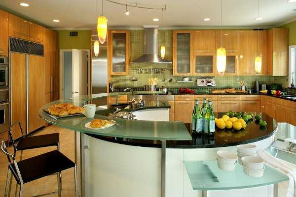 Isla de cocina dise os que te encantar n cocina for Beautiful houses interior kitchen