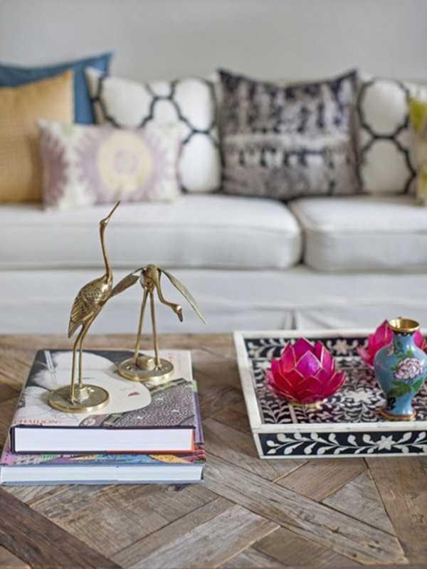 Decoraci n de mesas de centro infaltable para tu sala sala decora ilumina - Adornos mesa de centro ...