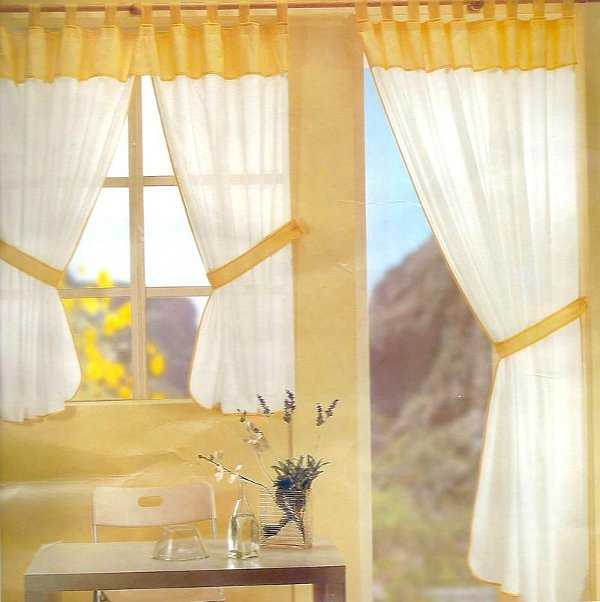 Rustic curtains-kitchen-10